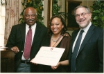Simone Monique Barnes at Harvard Administrative Fellows Graduation