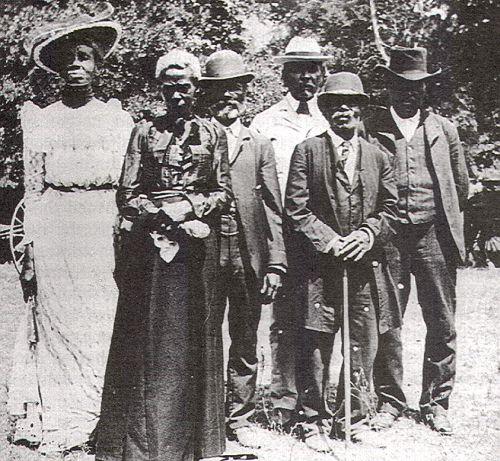 Juneteenth circa 1900, Austin, Texase