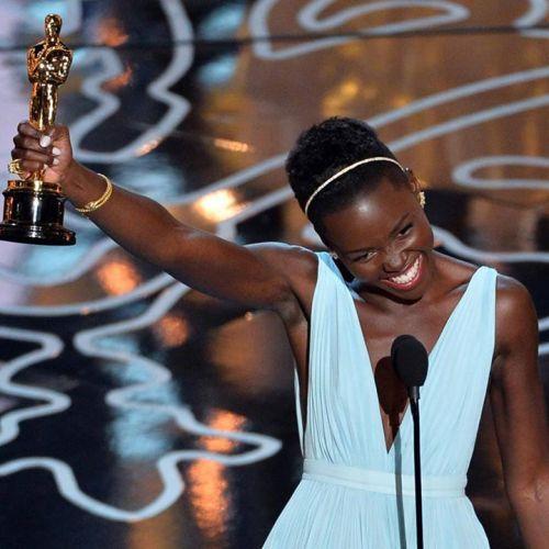 Lupita Nyong'o 2014 Oscar Win