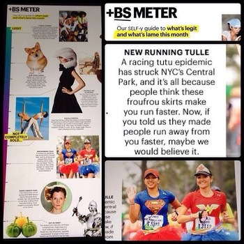 Self Magazine BS Meter April 2014