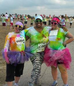 Simone Color Run